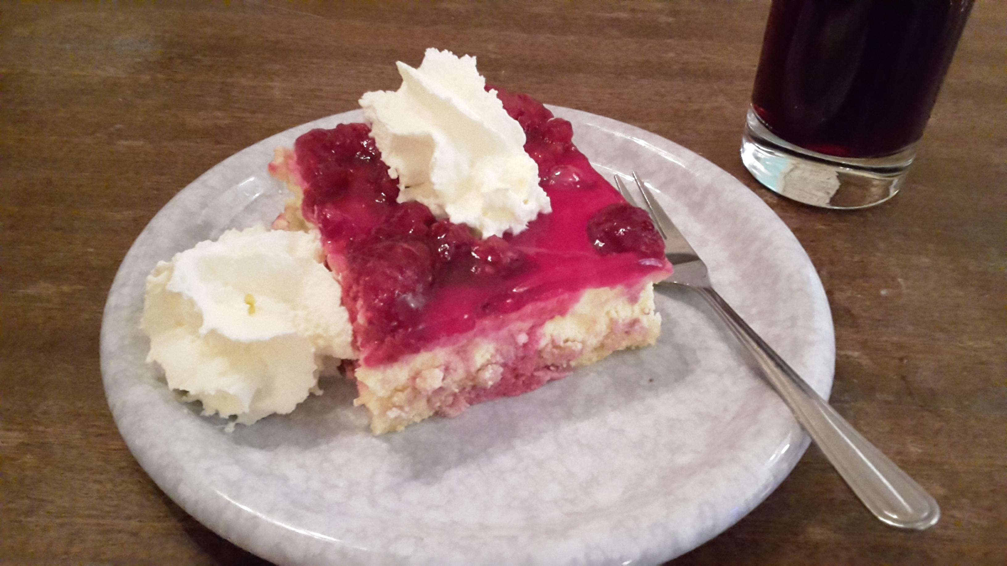 Nikolaus Kuchen im Cafe