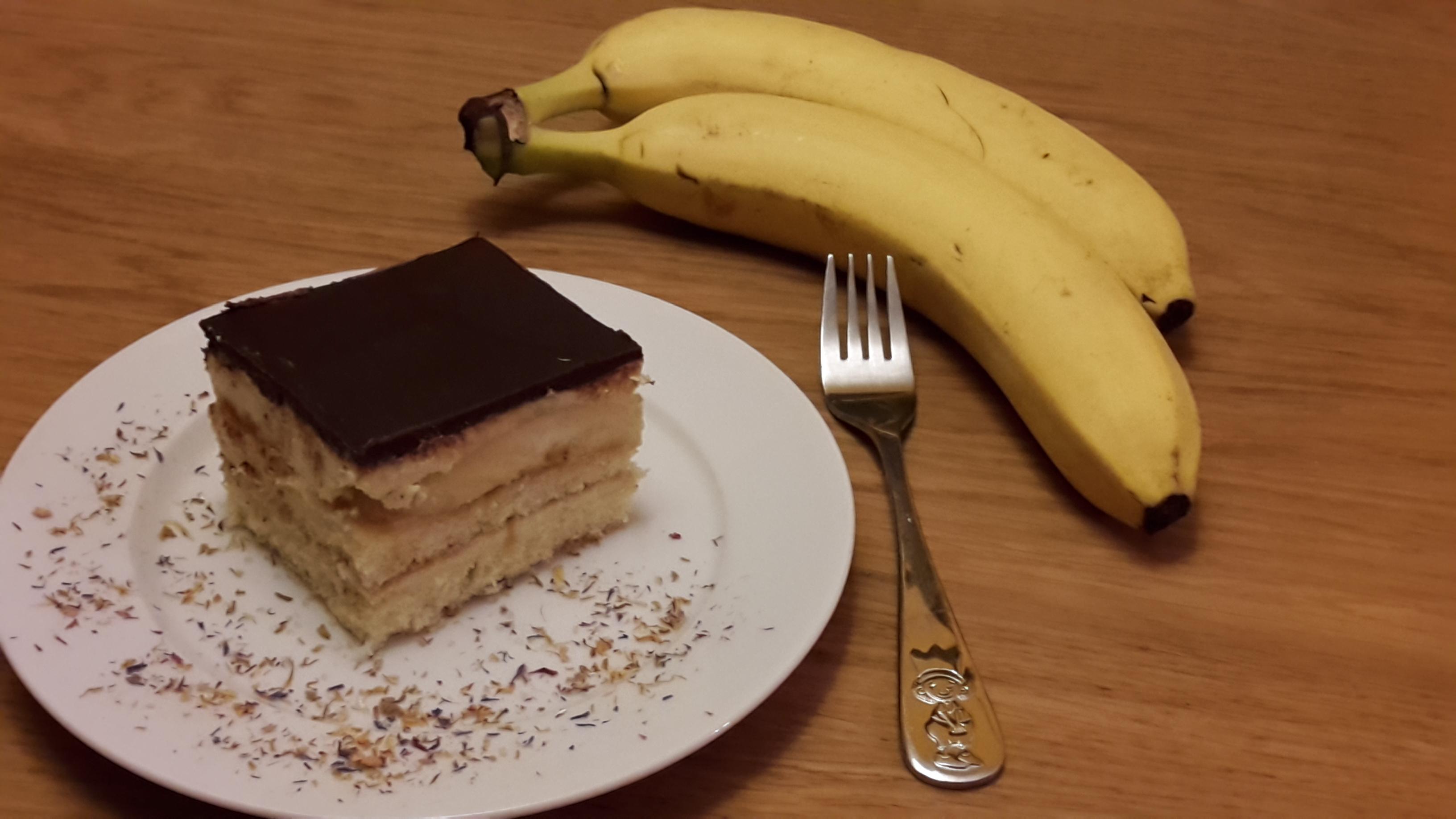 Bananenschnitten